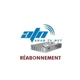 Renouvellement ARAB TV NET Arabe Full. atn