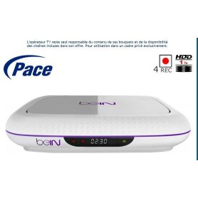 Official decoder, Pace DMS7000NBS for beIN Sports Arabia