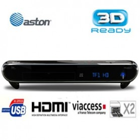 Décodeur ASTON DIVA DVB-S2, Viaccess
