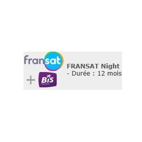 Carte Fransat + bis night