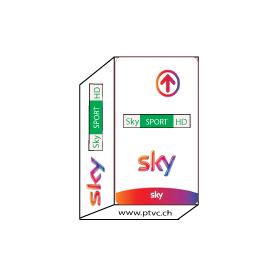 SKY Italia HD, Sky Sport HD, SKY Italia Switzera subscription card