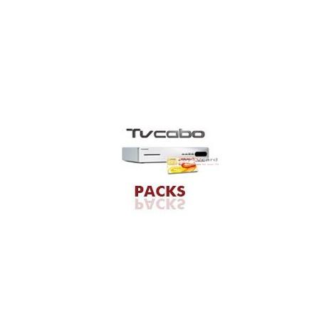 PACK : Carte d'Abonnement TVCabo