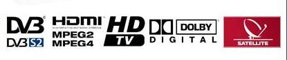 DVB-S2, HDMI, Dolby Digital, Sky italia
