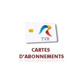 Abbonamento rumena TVR, smart card,