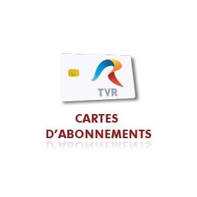 Subscription TVR Romanian, smart card,