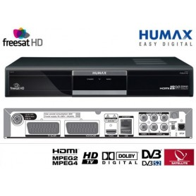 Humax FOXSAT-HD to Freesat receiver