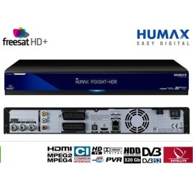 Receiver for Freesat, Freesat FOXSAT-HDR