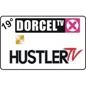 Hustler TV-targeta Dorcel TV Astra