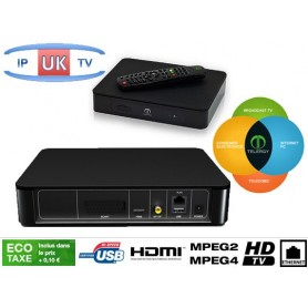 IP Uk Tv, canal de la mànega