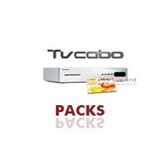 PACK : Carte à puce d'abonnement TV Nos Cabo + deco Hd