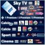 Calcio Sport + cinema, Sky-, decodificador smartcard, Calcio + esporte + cinema