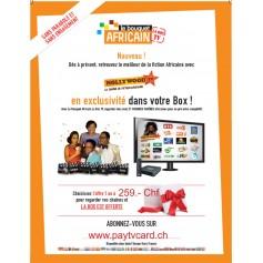 Der afrikanische Strauß, 1 Jahr Abonnement-tv ohne Sat-Antenne Kanal