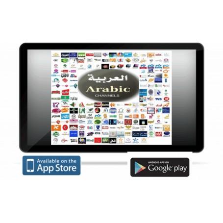 ARAB TV NET Arabic Full for Pad 12 months