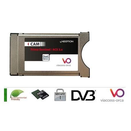 PCMCIA Viaccess seguro listo, viaccess Neotion PC 4.0 y 5.0-PC