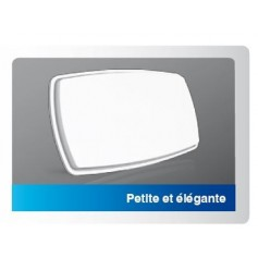 Antenne plate Caho, twin, 2 sorties