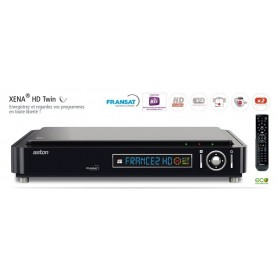 Registo do decodificador ASTON Xena dual DVB - S2,