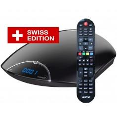 Aston Maya HD Bis et Chaine Suisse simple LNB