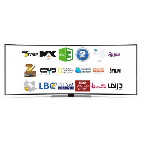 Tv Araba, Bouquet Pakage Arabo, Full, + 1500 Canali In Iptv, Nilesat,  Arabsat, Hotbird