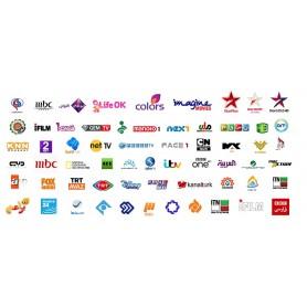 Renovación, Bouquet pakage Arabic, Completo, 1000 canales en iptv, Nilesat, Arabsat, Hotbird RTV,