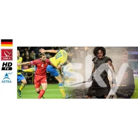 Sky Deutschland Cinema Sport + Futball bundesliga avec module
