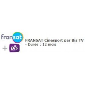 Carte Fransat + cinesport