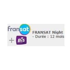 Carte Fransat + bis night