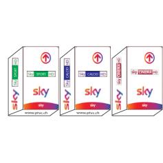 Sky Italia Hd Tv, Sky HD Calcio, Sport Sky HD, Sky filmes HD, Sky-abonneement cartão.