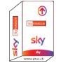 Carte abonnement Sky Tv + Cinema