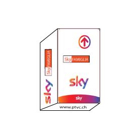 Carte abonnement Sky Tv + Cinema
