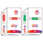 Carte abonnement Sky TvBasic, Sky Cinema HD , Sky Spot HD