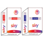 Sky Italia Hd, Sky Calcio HD, Sky movies HD, Tv card abonneement Sky It.