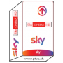 Céu Italia Hd, HD de Calcio Sky, Sky filmes HD, abonneement cartão de Tv Sky-lo.