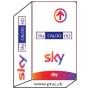 Sky Italia Hd Tv, Sky Calcio HD, Sky Sport HD, Sky Movies HD, Sky es Abo-Karte.