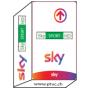 Sky Italia Hd Tv, Sky Calcio HD, Sky Sport HD, Sky Movies HD, Sky es Abonneement Karte.