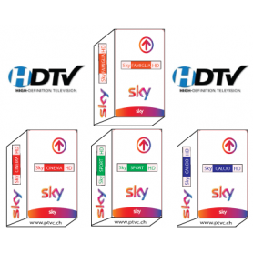 Access card for Sky Italy monthly payment Sky Tv Italia Hd, Famiglia, Calcio, Sport HD, Cinema
