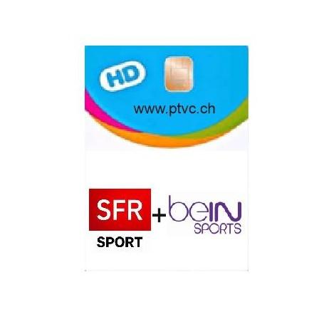 Abonnement Sfr Sport et Bein sport