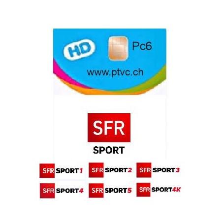 carte abonnement SFR Sfr Sport