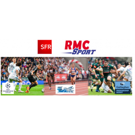 Tarjeta para RMC Sport
