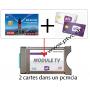 PCMCIA Viaccess sicuro pronto, per scheda di accesso Sat svizzero e Dual BIS READY Cardless