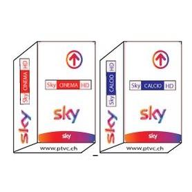 Sky Italia, небо Кальцио, небо кино, небо HD деко