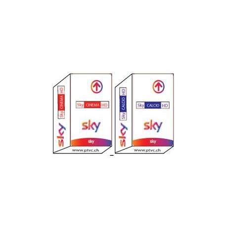 Sky Cinema Hd, Sky Calcio HD, Sky Calcio