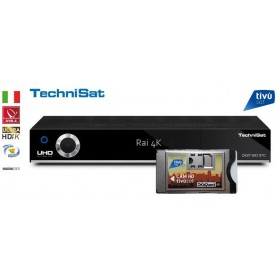 Technisat Digit ISIO STC 4K Pack - CAM Tivusat and 4K UHD card