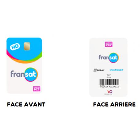 Carte Fransat